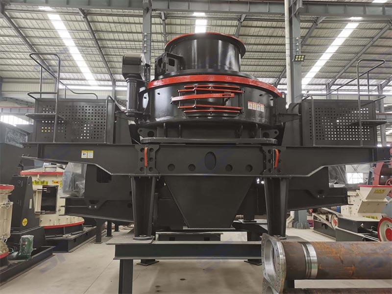 产量100t重型立轴式数控制砂机多少钱可以配下来
