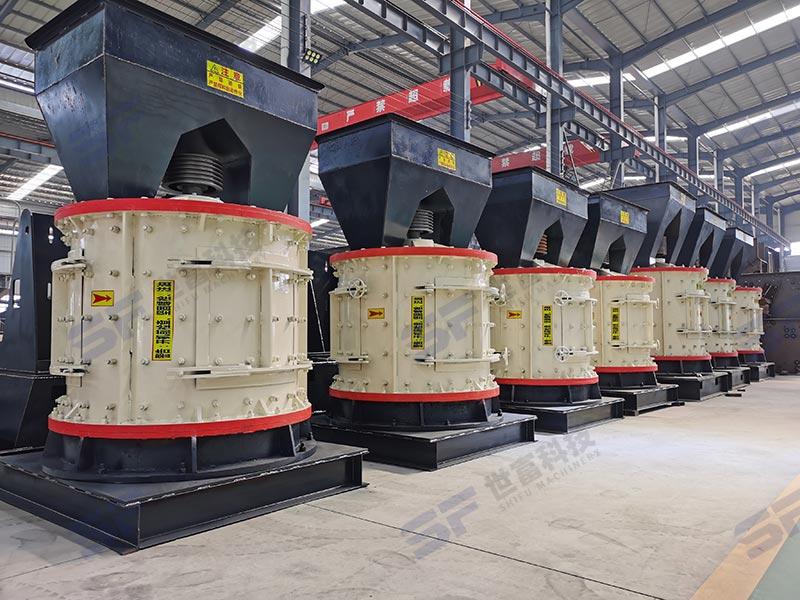 立轴制砂机可以选用配备除尘装置更环保,轻松应对环保检查