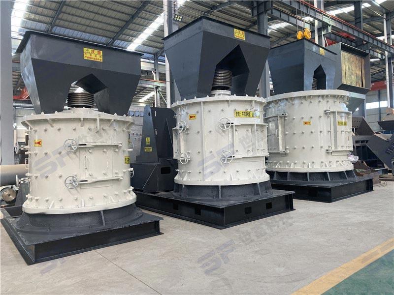 立轴制砂机低噪音 高产量 低扬尘 轻松应对环保问题