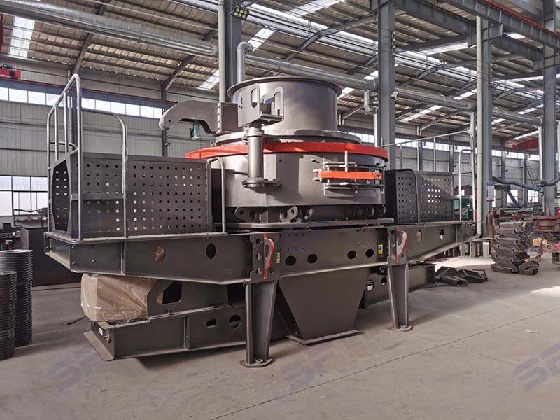 100-150吨板锤立式制砂机可选型号有哪些?