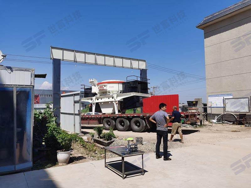 石粉制砂机制砂搭配洗砂机 水洗砂市场需求更大